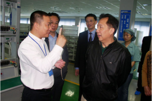 Zhang Liping, former Secretary of Fengxian District Committee, visited the company for inspection and offered guidance