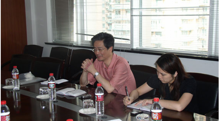 Chen Jianhao, director of Huangpu District Social Construction Office, visited the company and offered guidance